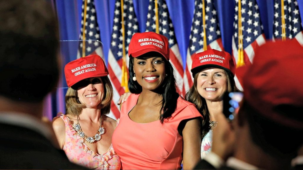 Omarosa As Director of African-American Outreach