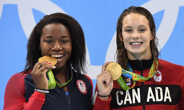 Simone Manuel made history in the pool