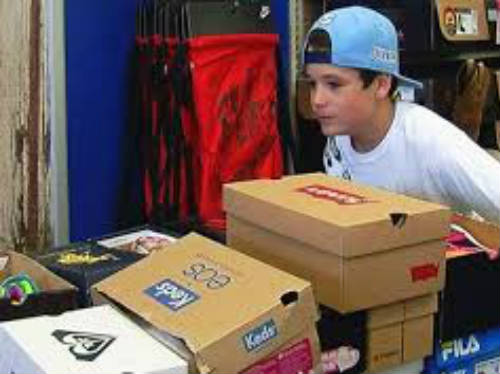 10-Year-Old Boy Gives Nearly 600 Pairs Of Shoes To Kids In Need