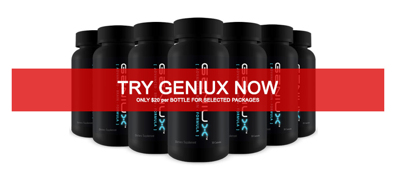 Geniux Best Nootropics Brain Supplement-Review