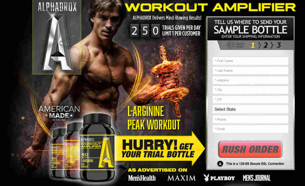 Alphadrox Review Best muscle building