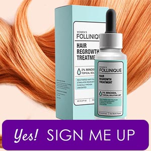 Female Hair Loss Cure : FOLLINIQUE