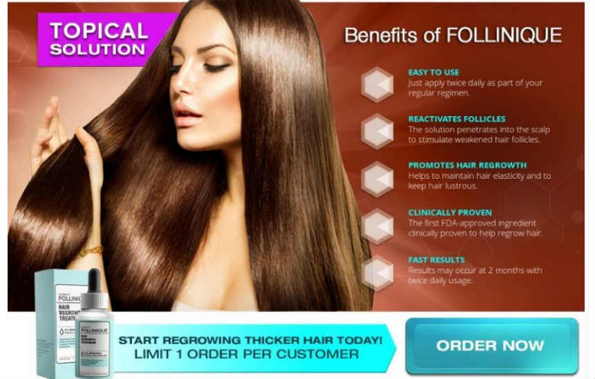 Hair Loss Treatment : FOLLINIQUE