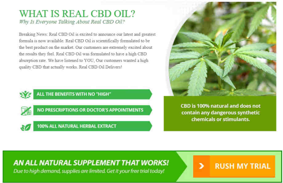 Real CBD Oil Extract