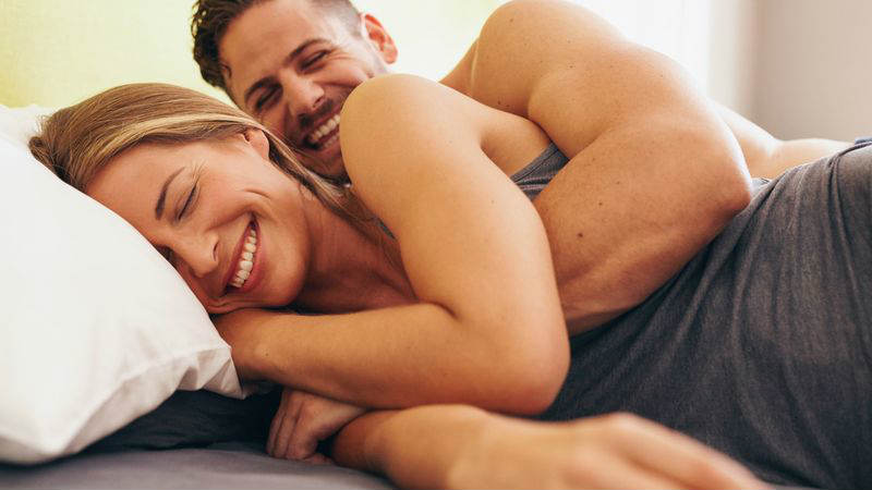 Hemp Oil Testosterone - sleeping couple