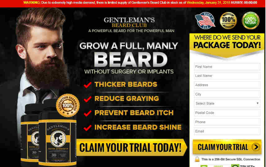 Gentlemans Beard Club Review