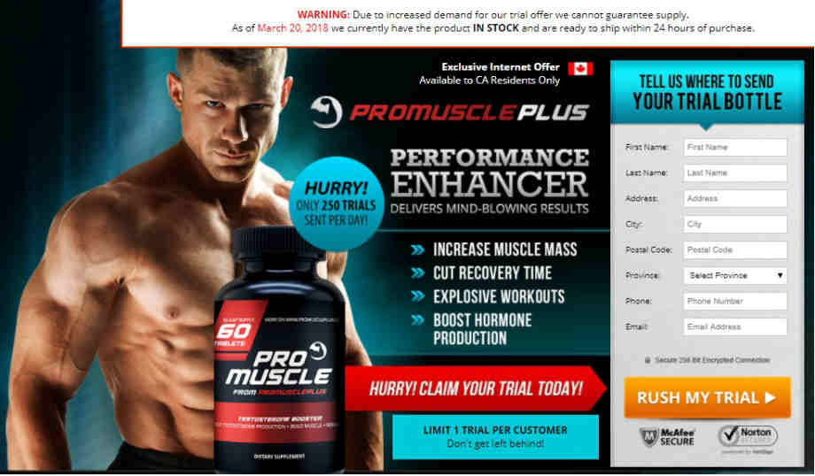 Pro Muscle Plus Review