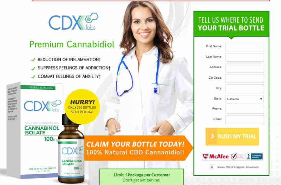 CDX Labs CBD Oil Review