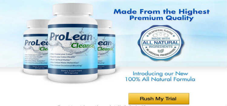 ProLean Cleanse Reviews - Colon Detox Weight Loss Cleanse