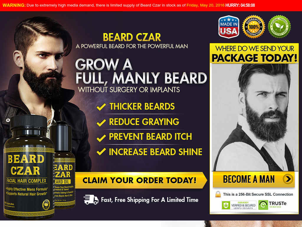 Does Beard Czar Work? Best Beard Oil Review Growth