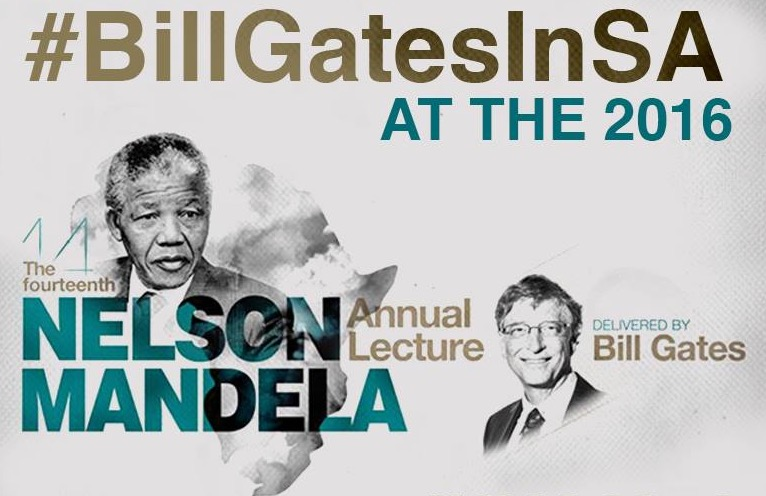 Mr. Bill Gates Charges Young Africans