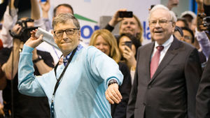 Bill Gates and Warren Buffett are celebrating 25 years