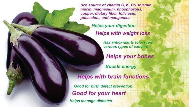 Benefit of eggplant