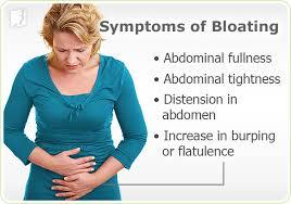 symptoms of bloating