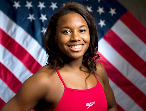 Simone Manuel made history in the pool 3