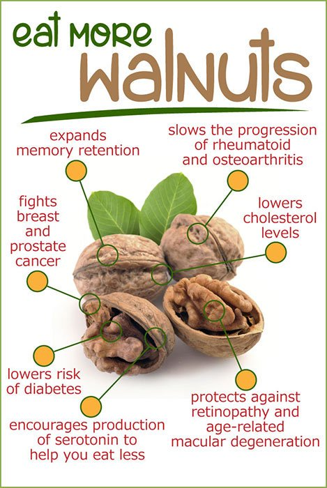 walnuts EYESIGHT SUPERFOODS