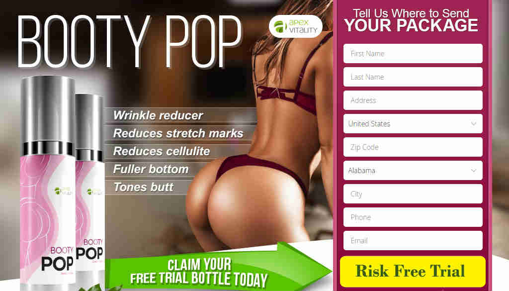 Booty Pop Butt Enhancement Cream Reviews: Is it Legit or Scam?