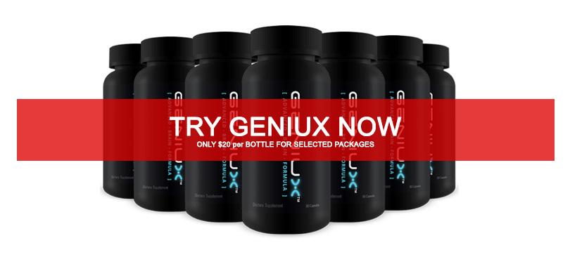 Geniux Best Nootropics Brain Supplement-Review