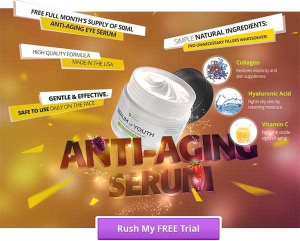 Apex Serum of Youth Anti-Aging Solution Reviews-Is it Legit or Scam?
