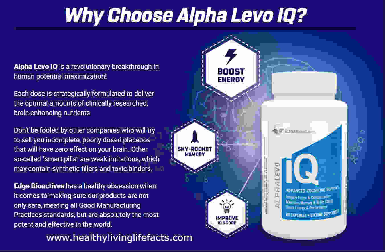 Alpha Levo IQ Best Human Brain Supplements Reviews:-Is This Legit or Scam?