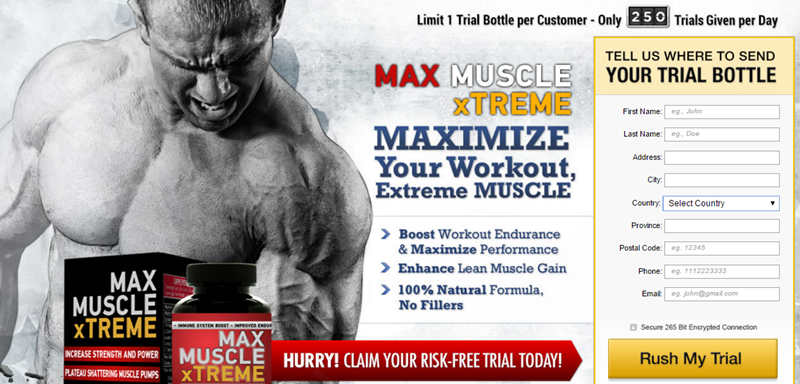 Max Muscle Extreme Ingredients -order-free-trial-now