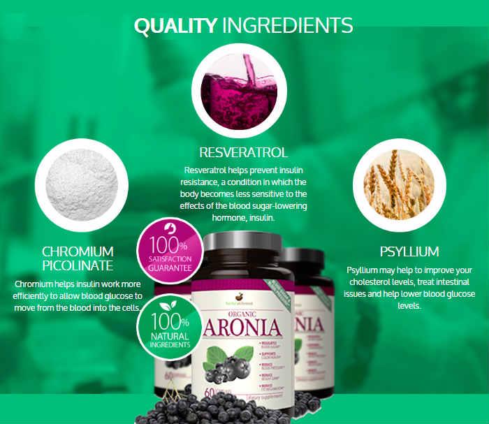 ingredients Organic Aronia Reviews -