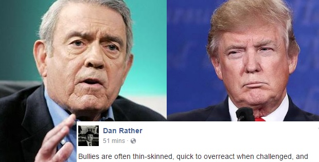 Dan Rather Just Savaged Trump For Hamilton