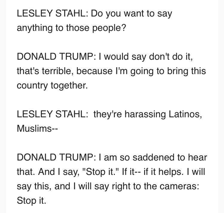 No salary, no vacations! Donald Trump