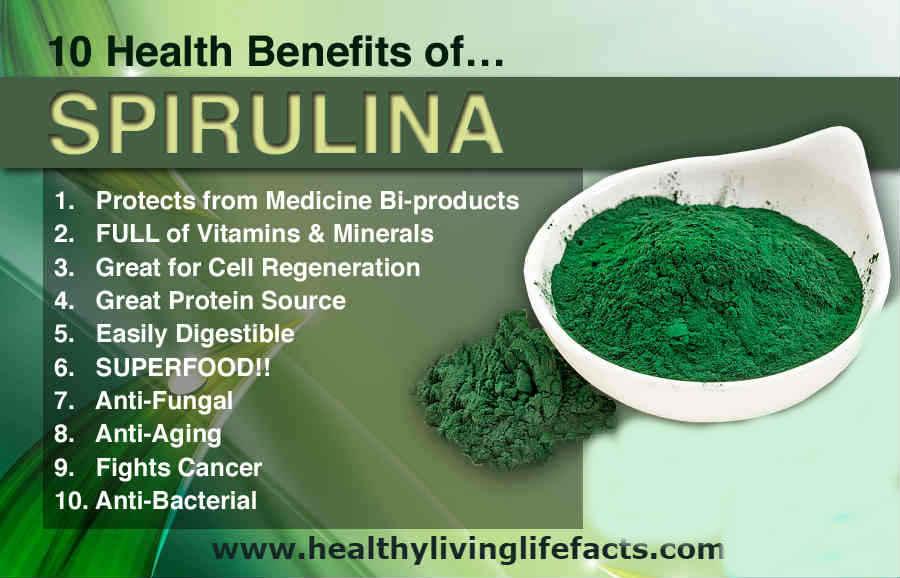 spirulina Foods to Unclog Arteries