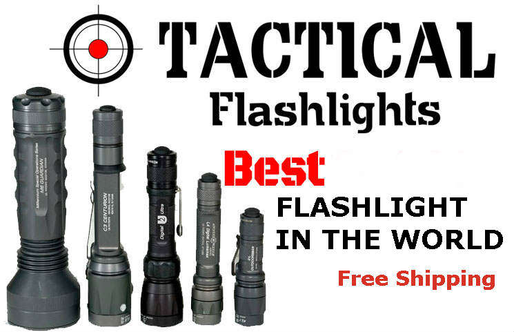 Tactical Flashlight: Worlds Best Tactical Flashlight