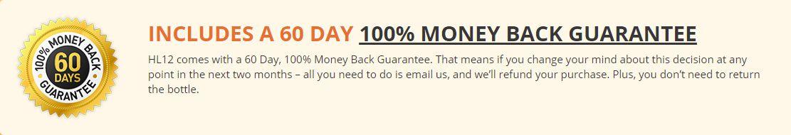 hl12-money-back-guarantee, HL12 Review