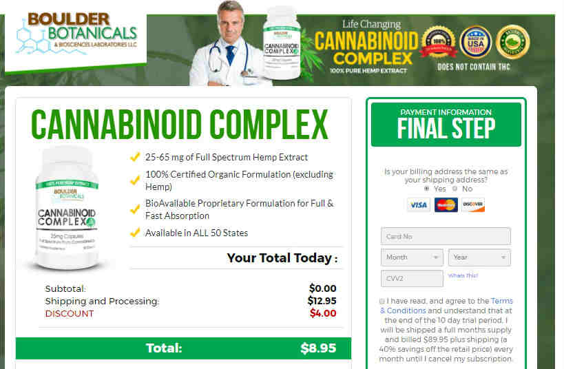 CBD Pills Free Samples