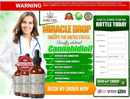 Claim Your Free CBD Cannabis Oil Sample