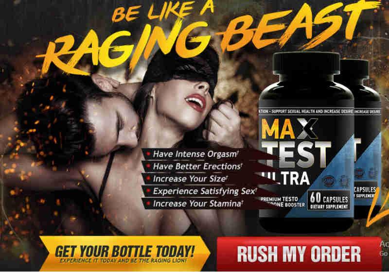 Max Test Ultra Male Enhancement