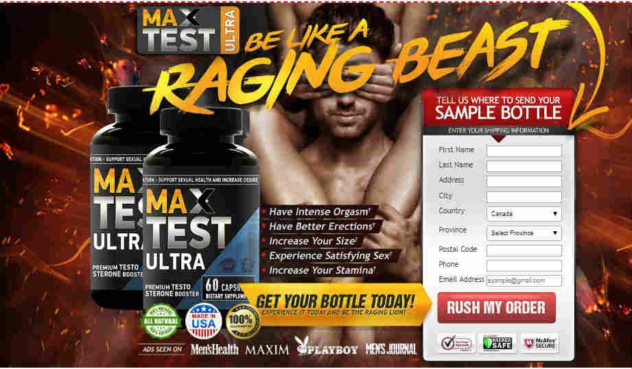 Max Test Ultra Male Enhancement, sexpills