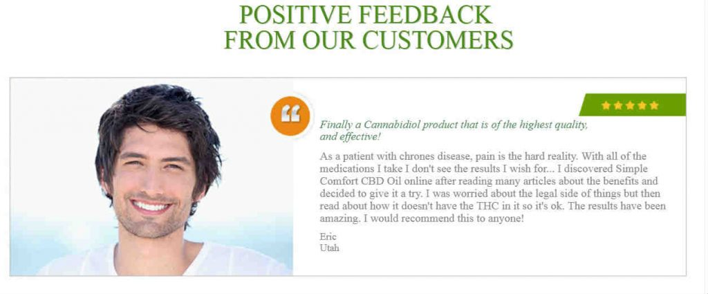 Simple Comfort CBD Review