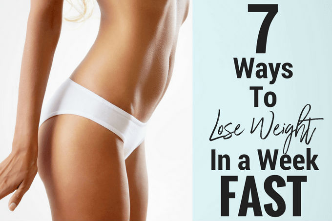 LOSE WEIGHT FAST: