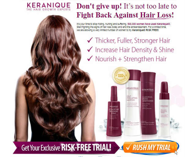 Keranique Hair Vitamins Reviews