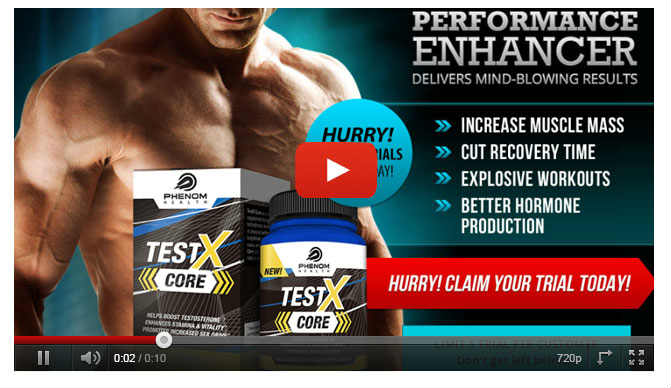 Testx Core Reviews : Testosterone Booster