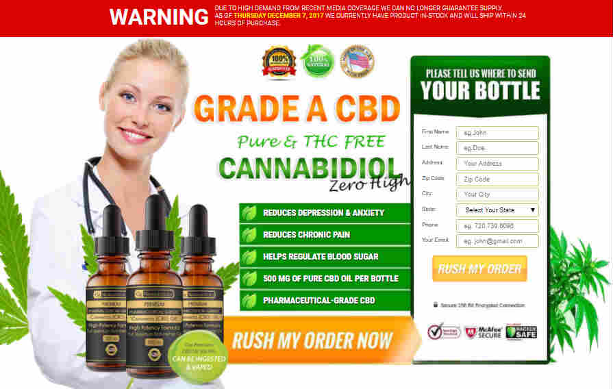 High Grade CBD Oil