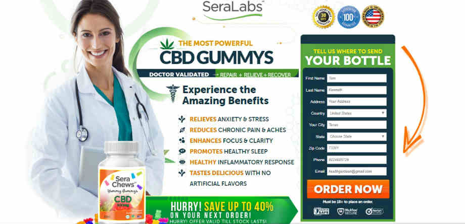 HighTech CBD Gummies - Seralab CBD Gummy
