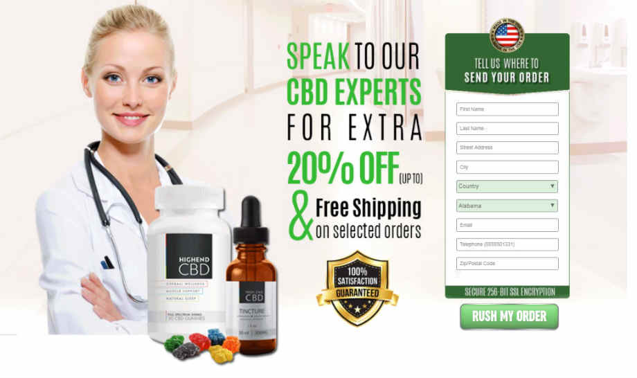 High End CBD Products