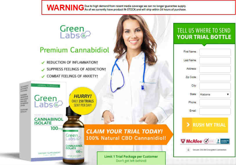 Green Labs CBD Oil Review :