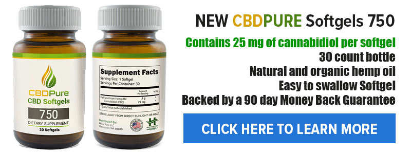 cbd softgels capsules