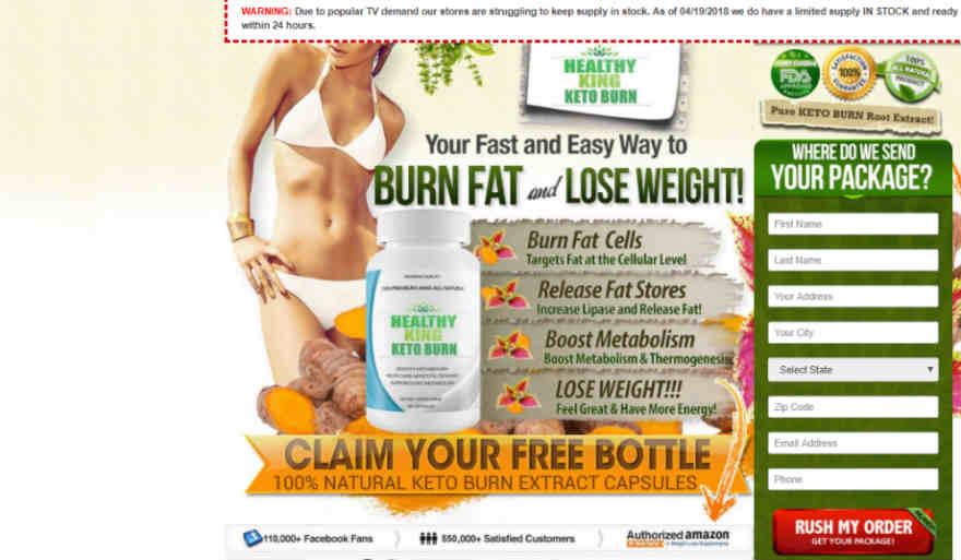 Healthy King Keto Burn Review