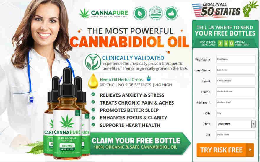 CannaPure CBD Free Trial