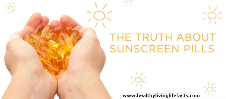 Sunscreen Pills Dangers
