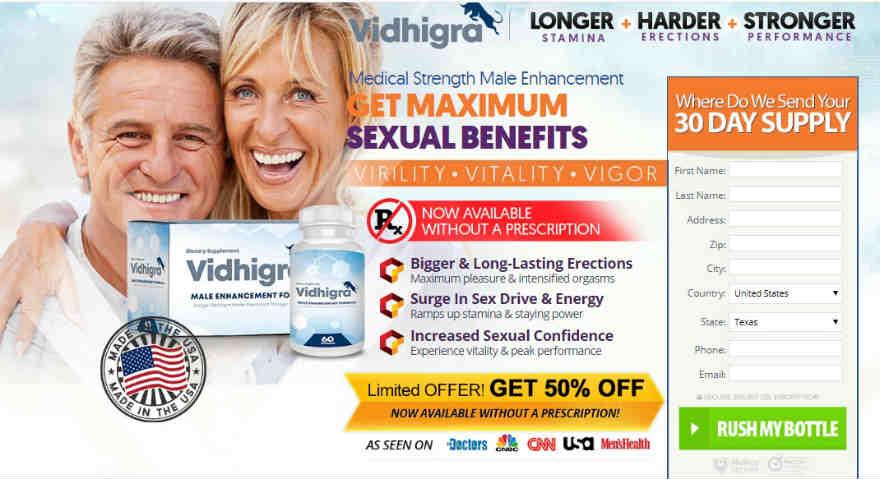 Vidhigra Male Enhancement Review