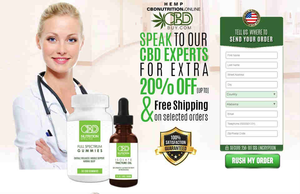 Hemp CBD Nutrition review
