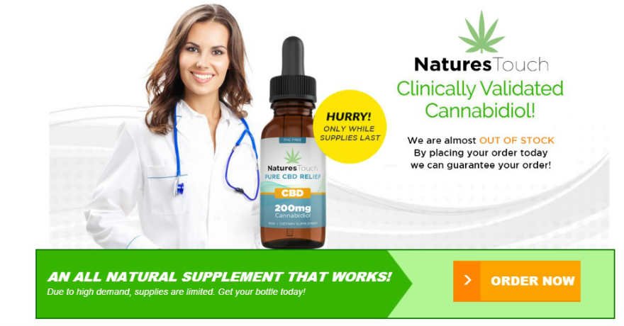 Natures Touch CBD Oil Review